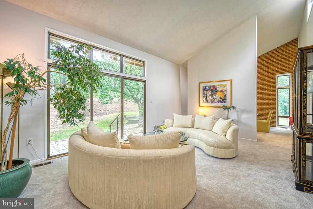 Soaring ceilings & large windows - 9104 CRICKLEWOOD CT, VIENNA