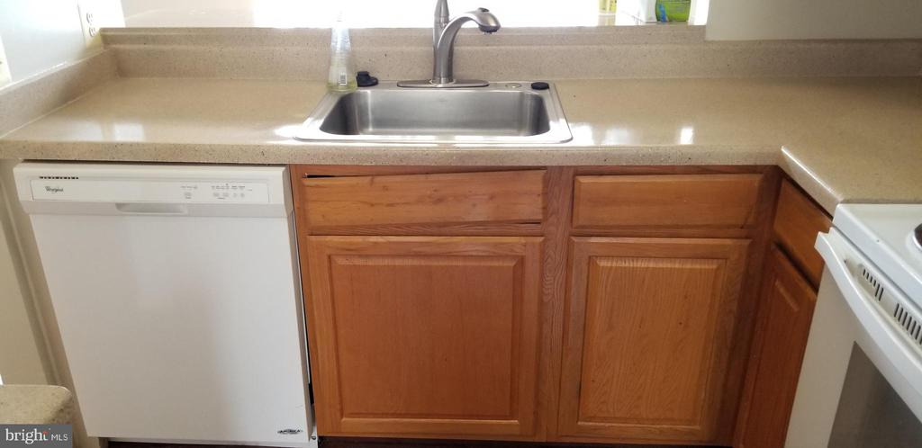 Lower cabinets and dishwasher - 301 S REYNOLDS ST #601, ALEXANDRIA
