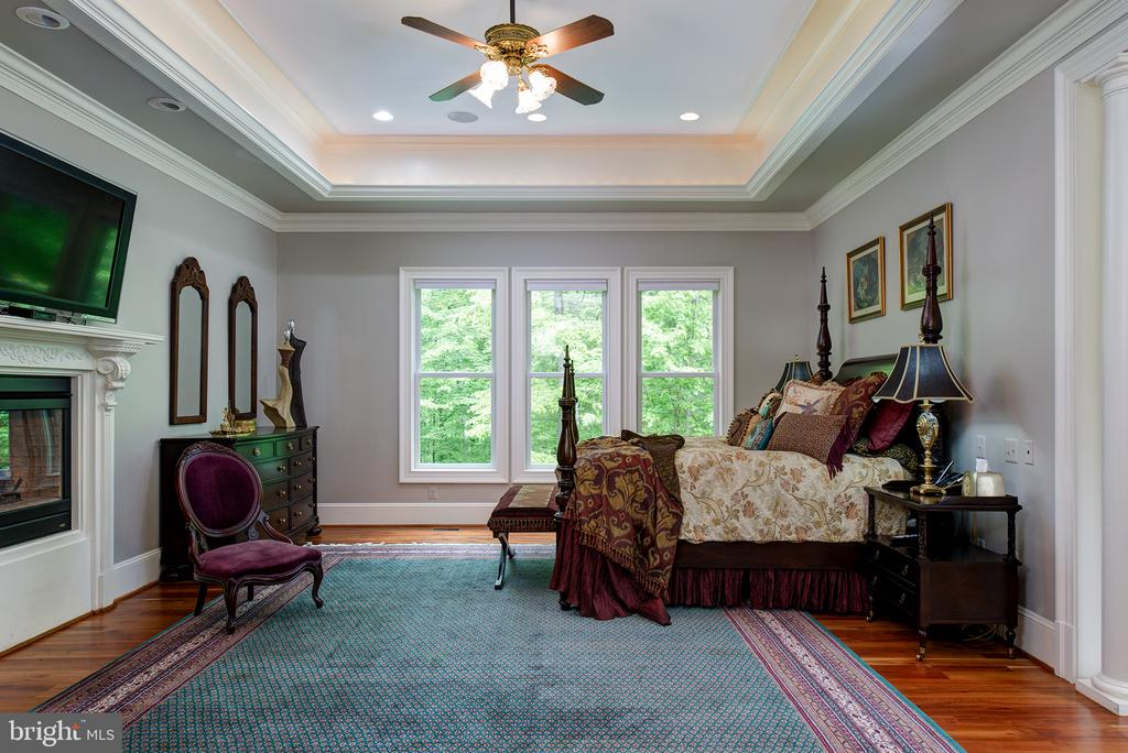 Peaceful views of the property through the windows - 41430 FOX CREEK LN, LEESBURG