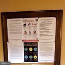 First floor  community board - 301 S REYNOLDS ST #601, ALEXANDRIA