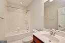 Lower Level Full Bath - 3801 WASHINGTON BLVD, ARLINGTON