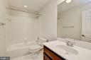 Upper Level Full Bath - 3801 WASHINGTON BLVD, ARLINGTON