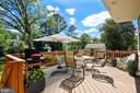 Deck - virtually staged - 4707 FORDHAM RD, COLLEGE PARK