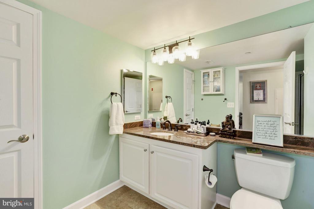 2nd bathroom (2020) - 11710 OLD GEORGETOWN RD #317, ROCKVILLE