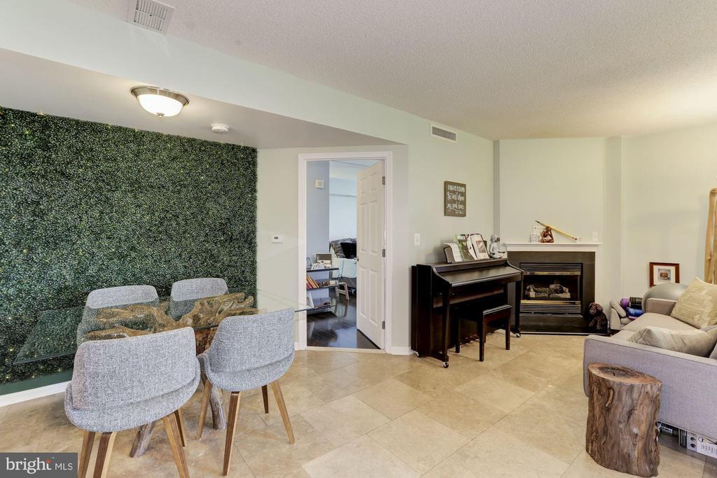 Open floor plan (2020) - 11710 OLD GEORGETOWN RD #317, ROCKVILLE