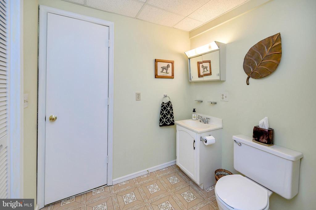 Full bathroom lower level - 508 GLENEAGLE DR, FREDERICKSBURG