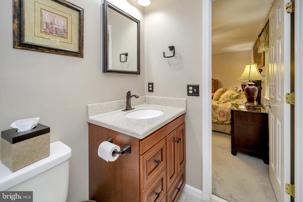 Fully remodeled master bathroom - 508 GLENEAGLE DR, FREDERICKSBURG