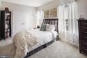 Light filled and spacious secondary bedroom - 8206 MINER ST, GREENBELT