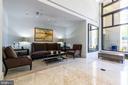 Lobby sitting area - 7710 WOODMONT AVE #802, BETHESDA