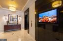 Dedicated utility elevator for moving and pets - 7710 WOODMONT AVE #802, BETHESDA