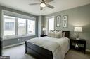 Master Bedroom with Box-Bay Window - 16636 CRABBS BRANCH WAY, ROCKVILLE
