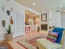 Open concept living/dining/ kitchen - 3350 17TH ST NW #T2, WASHINGTON