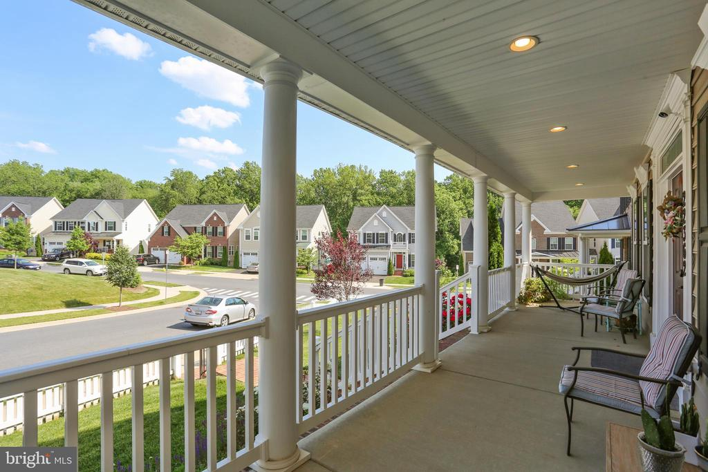 Sit on the front porch and enjoy the view - 22362 BRIGHT SKY DR, CLARKSBURG