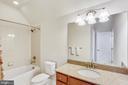Upper Level 2nd full bathroom - 22362 BRIGHT SKY DR, CLARKSBURG