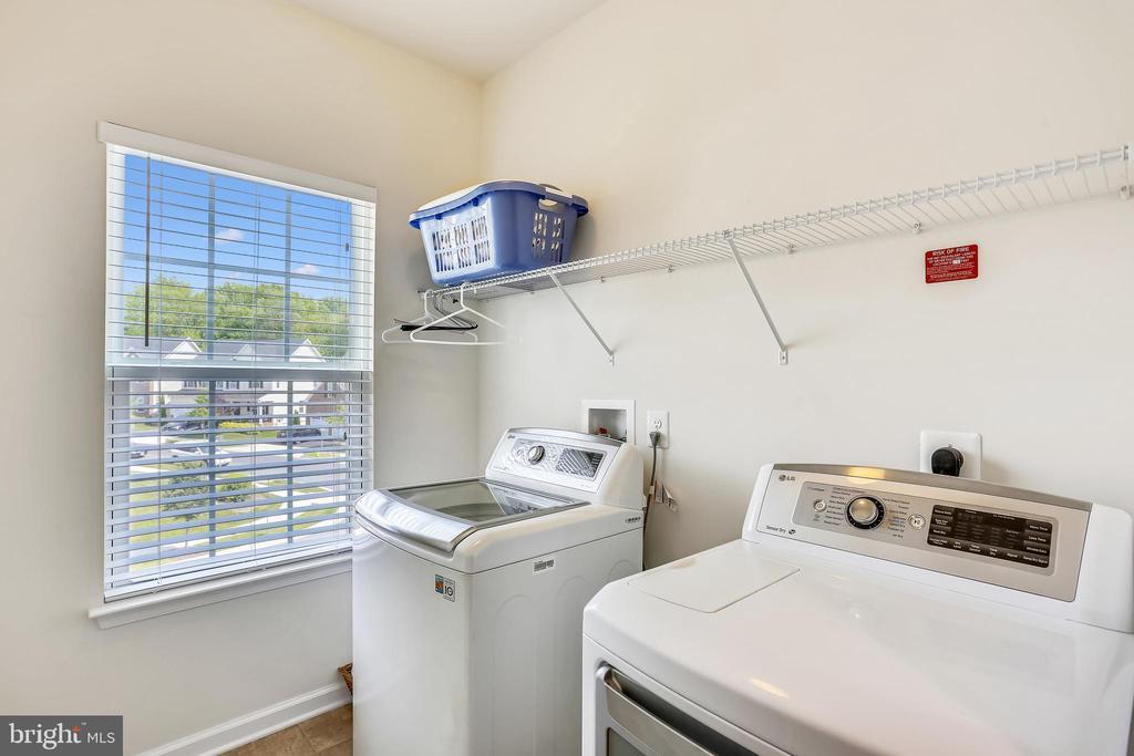 Upper Level laundry room - 22362 BRIGHT SKY DR, CLARKSBURG