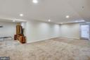 Lower Level with walk up stairs to backyard - 22362 BRIGHT SKY DR, CLARKSBURG