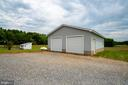 Oversized Detached Garage - 160 WILLOWDALE LN, FREDERICKSBURG