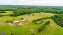 Barns, paddocks and cow pastures can be seen. - 160 WILLOWDALE LN, FREDERICKSBURG