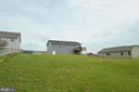 Back yard view - 540 SPYGLASS, MARTINSBURG