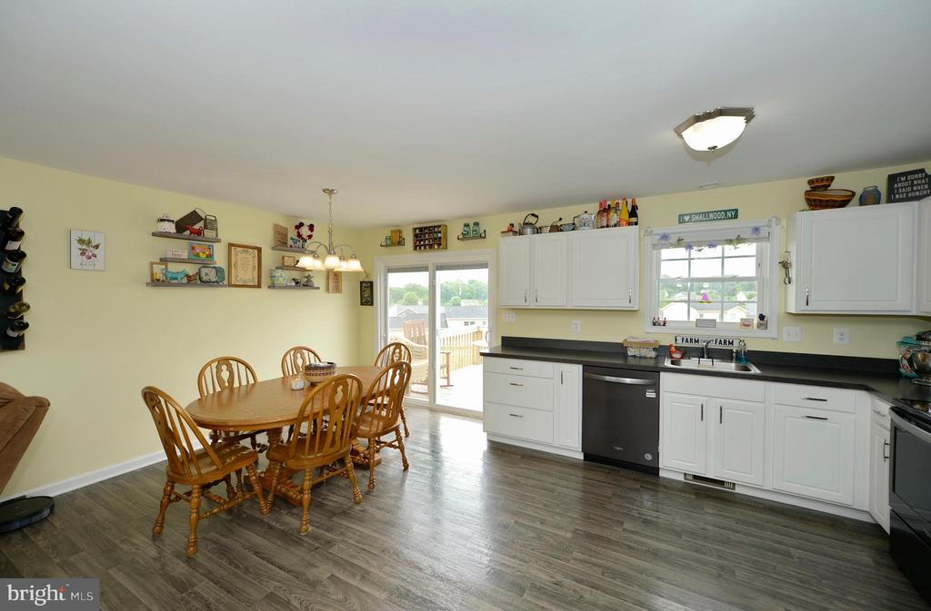 Kitchen/dining room view 1 - 540 SPYGLASS, MARTINSBURG