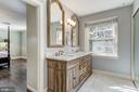 Ensuite Full Bathroom - 6600 KENNEDY DR, CHEVY CHASE