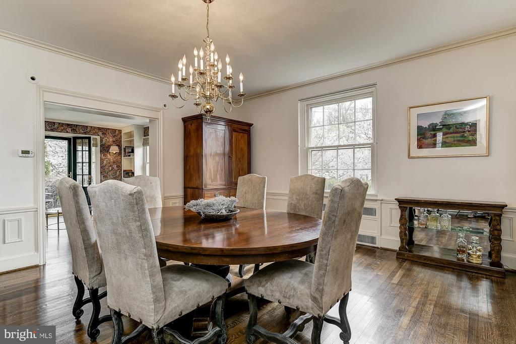 Dining Room - 6600 KENNEDY DR, CHEVY CHASE