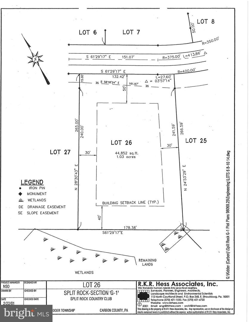 Land for Sale at Lake Harmony, Pennsylvania 18624 United States