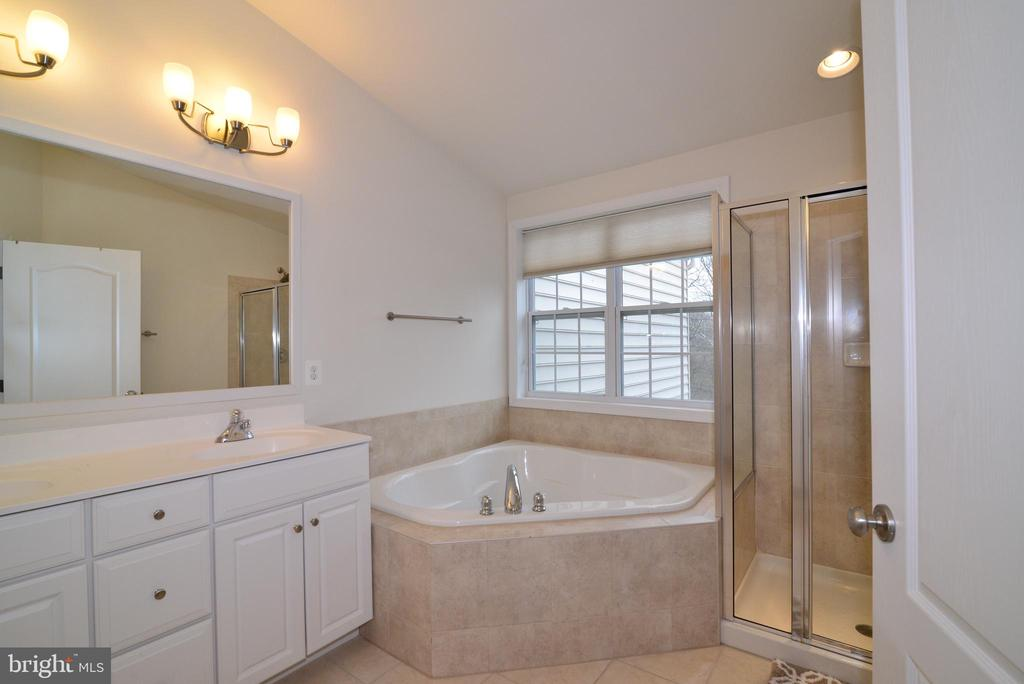 Master Bath - 43275 MITCHAM SQ, ASHBURN