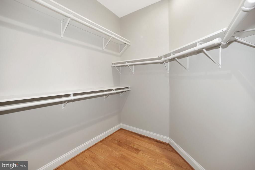 Master Bedroom suite.  Huge walk-in closet. - 1122 6TH ST NE, WASHINGTON