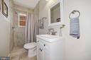 First floor full bathroom - 1122 6TH ST NE, WASHINGTON