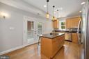 Gourmet kitchen (other view) - 1122 6TH ST NE, WASHINGTON