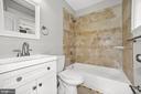 Fourth Bathroom.  Ensuite for the fourth bedroom. - 1122 6TH ST NE, WASHINGTON