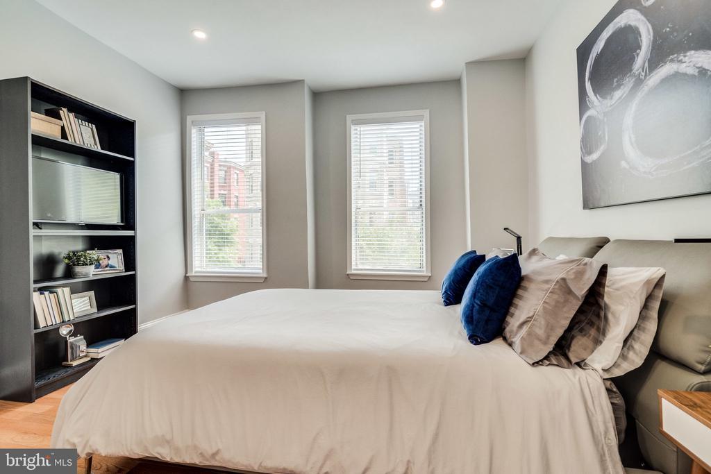 Serene and beautiful bedrooms! - 1431 W ST NW, WASHINGTON
