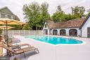 Relax by the Private Community Pool - 9902 PALACE GREEN WAY, VIENNA
