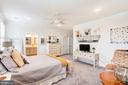 Master bedroom - 23631 HAVELOCK WALK TER #420, ASHBURN