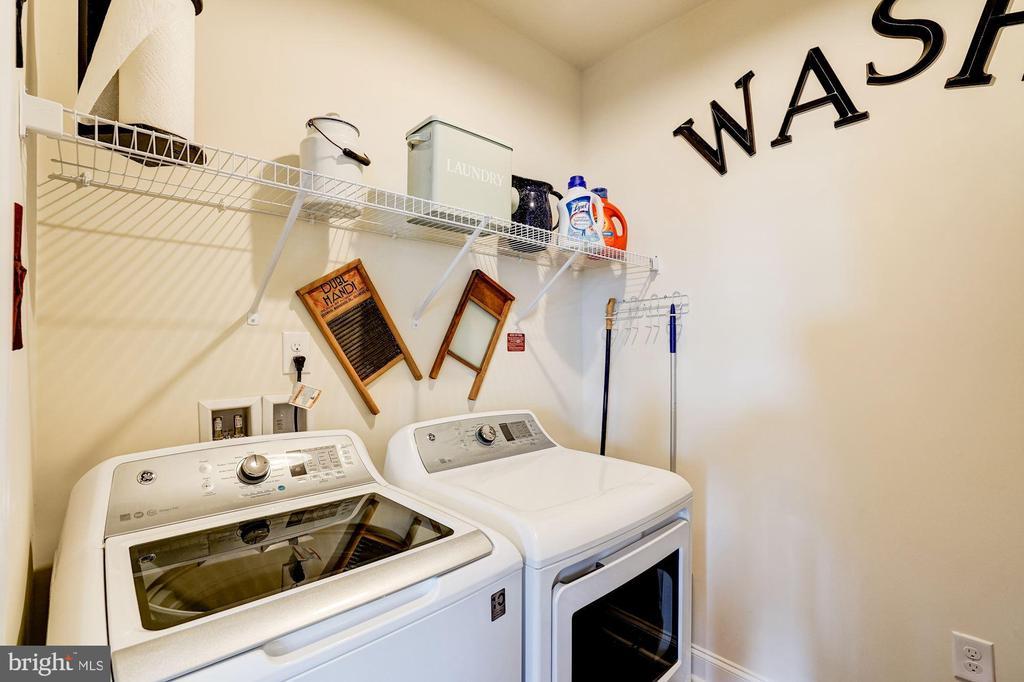 Laundry room - 23631 HAVELOCK WALK TER #420, ASHBURN