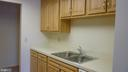 Kitchen with Updated Cupboards - 3429 S LEISURE WORLD BLVD N #88-3E, SILVER SPRING