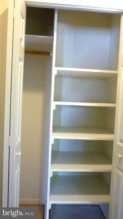 Large Linen Closet outside Bedroom - 3429 S LEISURE WORLD BLVD N #88-3E, SILVER SPRING
