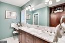 Beautiful Updated Bath with 2 Sinks - 4501 35TH RD N, ARLINGTON