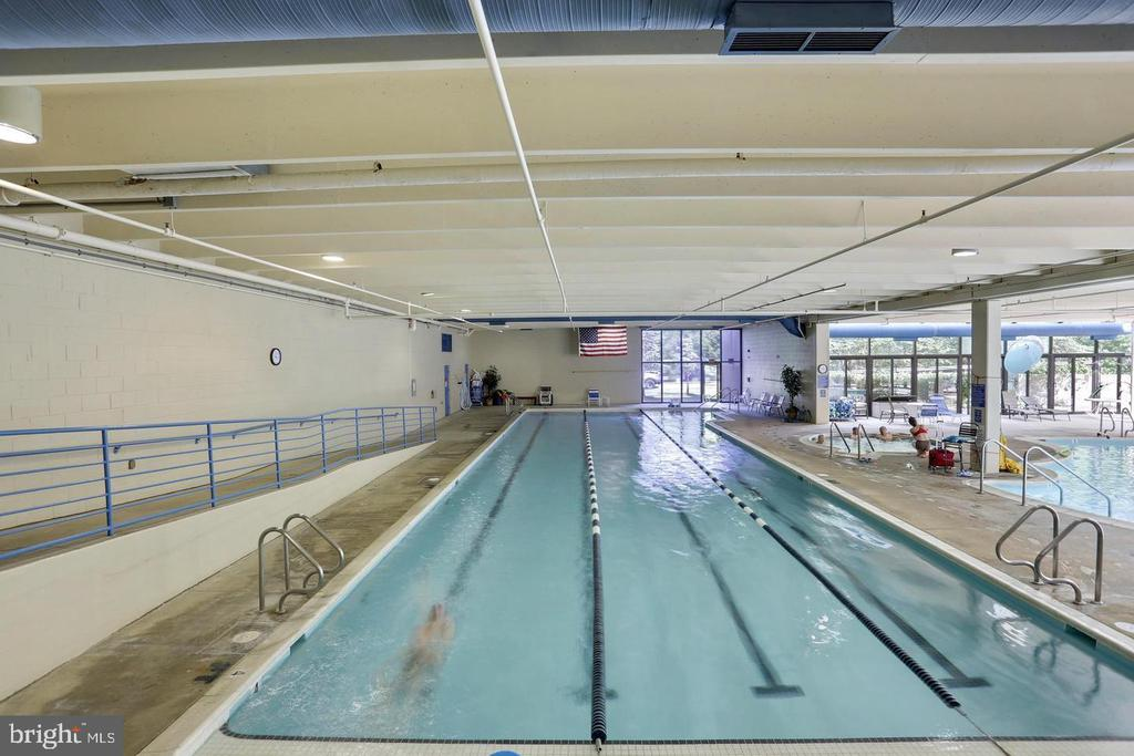 Indoor Pool - 3429 N LEISURE WORLD BLVD N #88-3E, SILVER SPRING