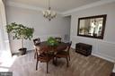 Dining room - 40 BELLA VISTA CT, STAFFORD