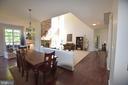 Open concept floor plan - 40 BELLA VISTA CT, STAFFORD