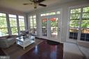 Opens to the deck AND THESE WINDOWS! - 40 BELLA VISTA CT, STAFFORD