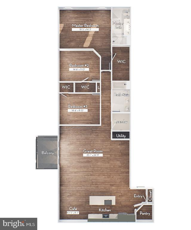 2016 sq. ft. of penthouse luxury - 23631 HAVELOCK WALK TER #420, ASHBURN