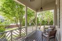 Lovely, Shady Rear Porch - 9902 PALACE GREEN WAY, VIENNA