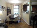 Dining room - 3720 39TH ST NW #A163, WASHINGTON