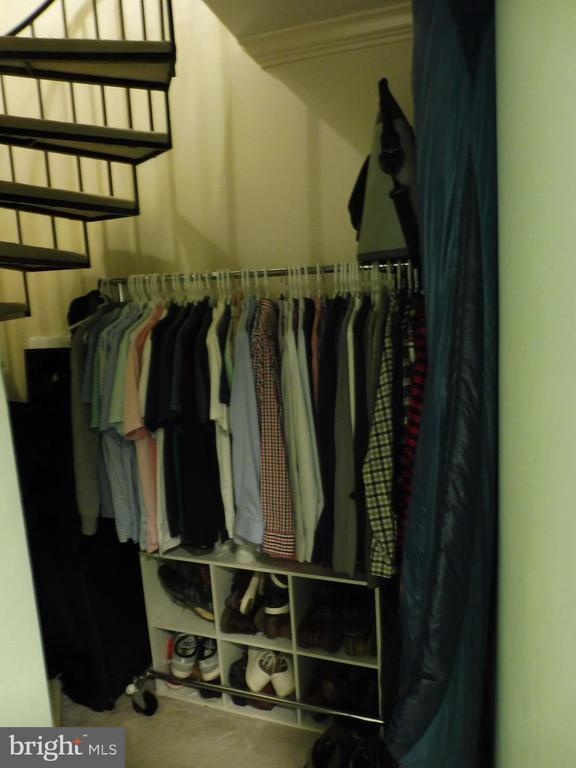 Absolutely not enough closets, so another created! - 3720 39TH ST NW #A163, WASHINGTON