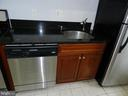 Kitchen granite counters and stainless steel sink - 2504 22ND ST NE #6, WASHINGTON