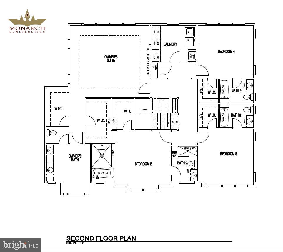 2nd Floor Plan of 602 Meadow Lane - 602 MEADOW LN SW, VIENNA