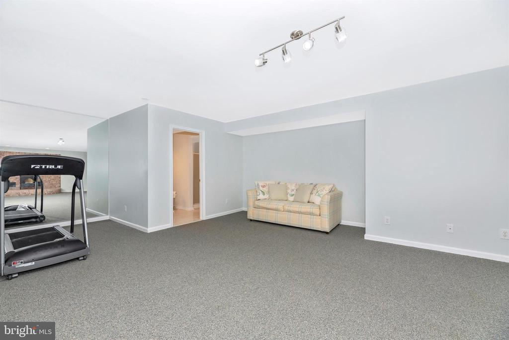 Lower Level Rec Room Area - 6156 WOODVILLE RD, MOUNT AIRY